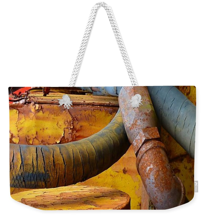 Abstract Weekender Tote Bag featuring the photograph Prime by Lauren Leigh Hunter Fine Art Photography