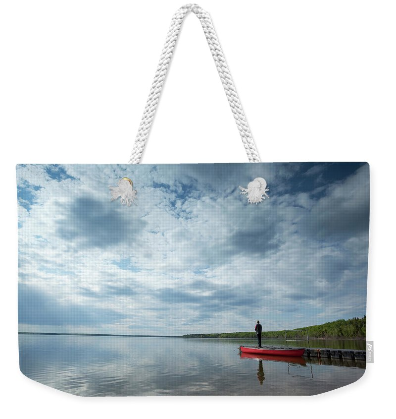 Scenics Weekender Tote Bag featuring the photograph Prince Albert National Park by Mysticenergy