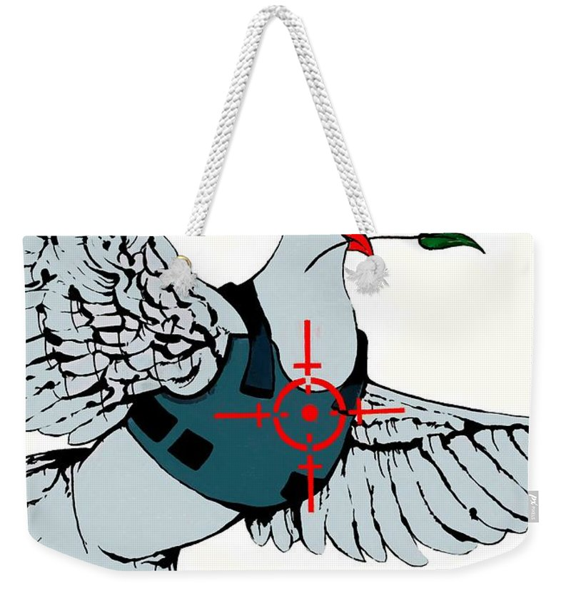 Protection Weekender Tote Bag featuring the photograph Protection by Munir Alawi