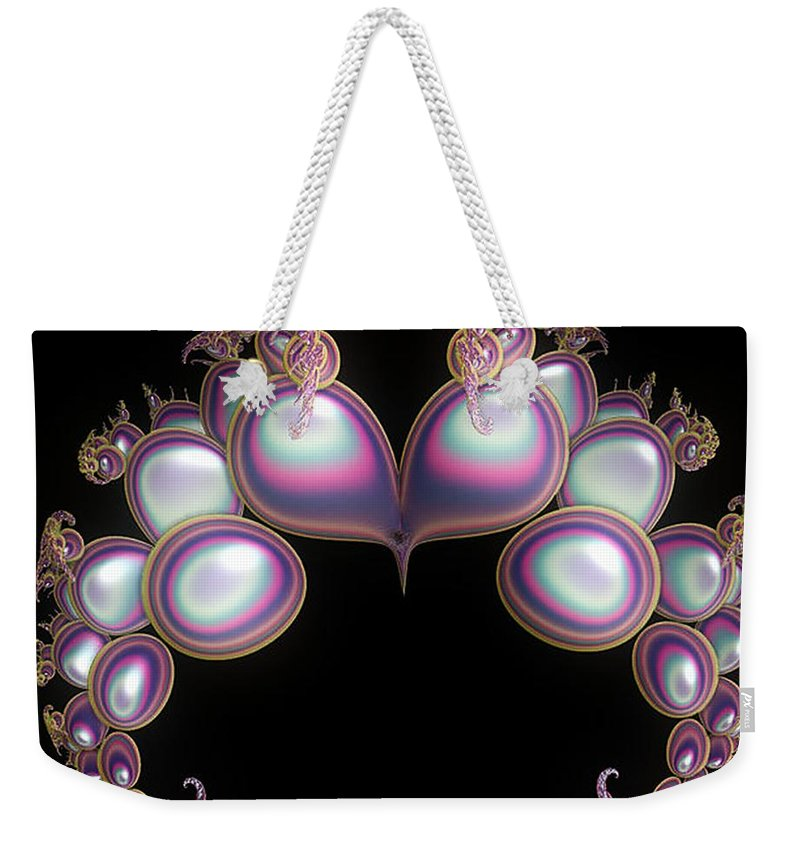 Heart Weekender Tote Bag featuring the digital art Protective Heart by Sara Raber