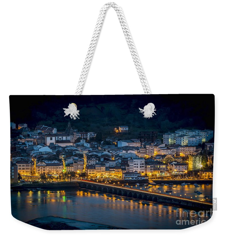Galicia Weekender Tote Bag featuring the photograph Puentedeume View From Cabanas Galicia Spain by Pablo Avanzini