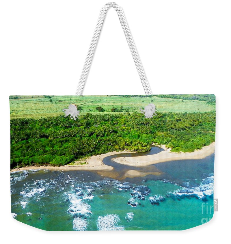 Landscape Weekender Tote Bag featuring the photograph Puerta Plata Coastline by Paul Smith