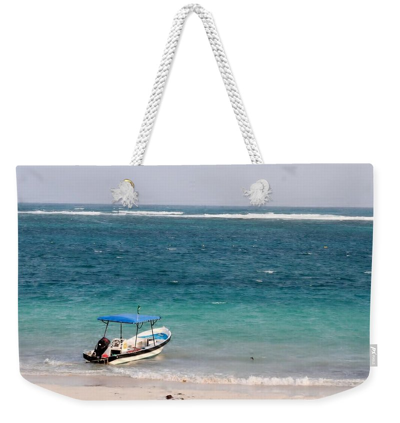 Ocen Weekender Tote Bag featuring the photograph Puerto Morelos by Sheryl Chapman Photography