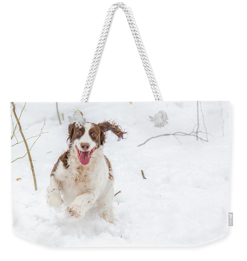 Children Weekender Tote Bag featuring the photograph Pure Joy by Cheryl Baxter