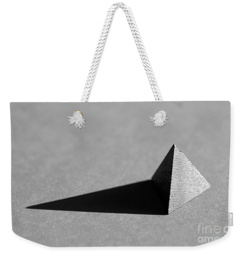 Pyramid Weekender Tote Bag featuring the photograph Pyramid by Kenny Glotfelty