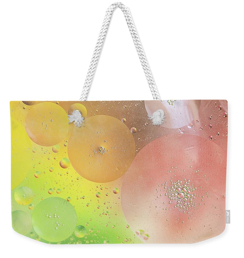 Photography Weekender Tote Bag featuring the photograph Bubbles by Ivy Ho