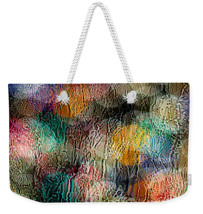 Christmas Weekender Tote Bag featuring the photograph Rainy Day Christmas by Aaron Aldrich