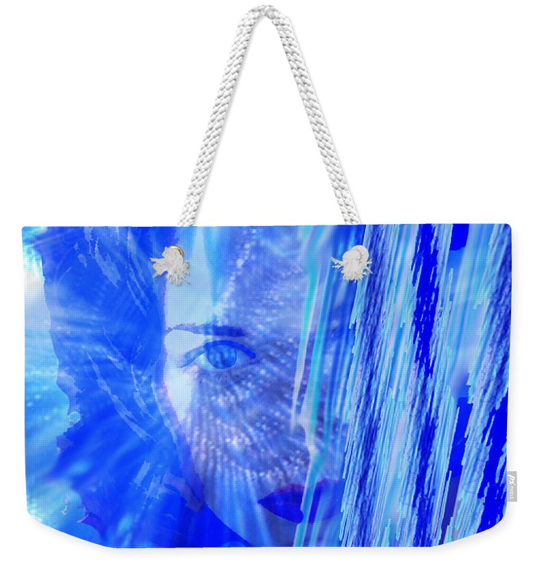 Rainy Day Dreams Weekender Tote Bag featuring the digital art Rainy Day Dreams by Seth Weaver