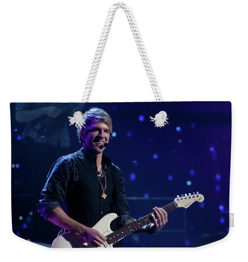 Rascal Flatts Weekender Tote Bag featuring the photograph Rascal Flatts 4991 by Timothy Bischoff