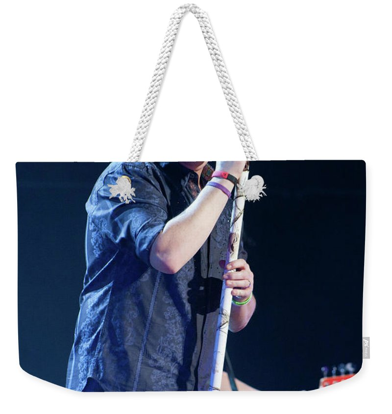 Rascal Flatts Weekender Tote Bag featuring the photograph Rascal Flatts 5044 by Timothy Bischoff