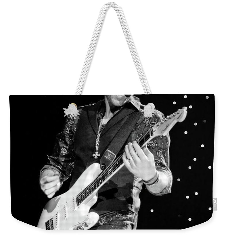 Rascal Flatts Weekender Tote Bag featuring the photograph Rascal Flatts 5067 by Timothy Bischoff