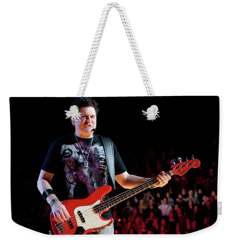 Rascal Flatts Weekender Tote Bag featuring the photograph Rascal Flatts 5124 by Timothy Bischoff