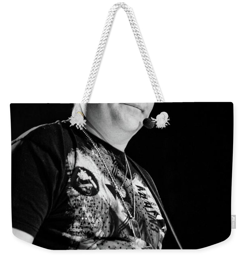 Rascal Flatts Weekender Tote Bag featuring the photograph Rascal Flatts 5157 by Timothy Bischoff