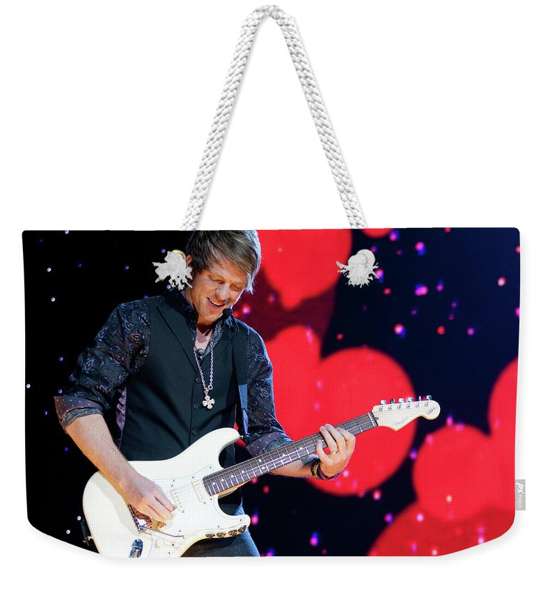 Rascal Flatts Weekender Tote Bag featuring the photograph Rascal Flatts 5180 by Timothy Bischoff