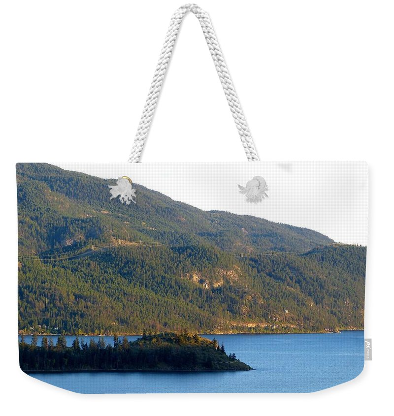 Rattlesnake Point Weekender Tote Bag featuring the photograph Rattlesnake Point by Will Borden