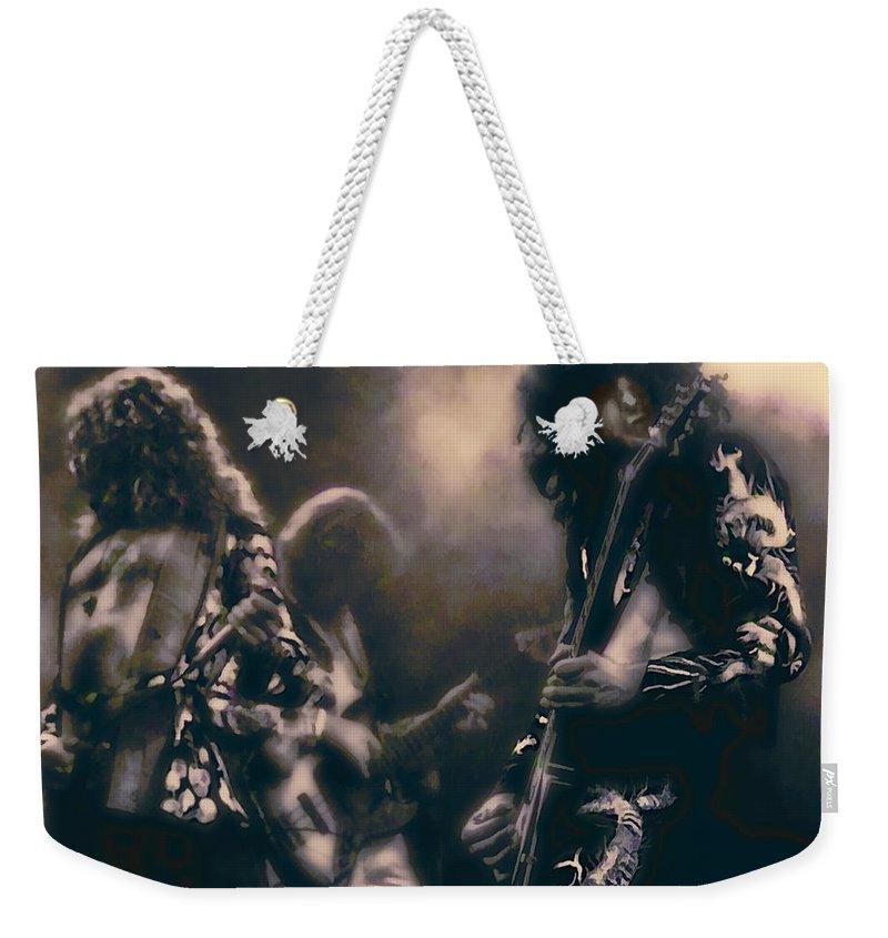 Jimmy Page Weekender Tote Bags