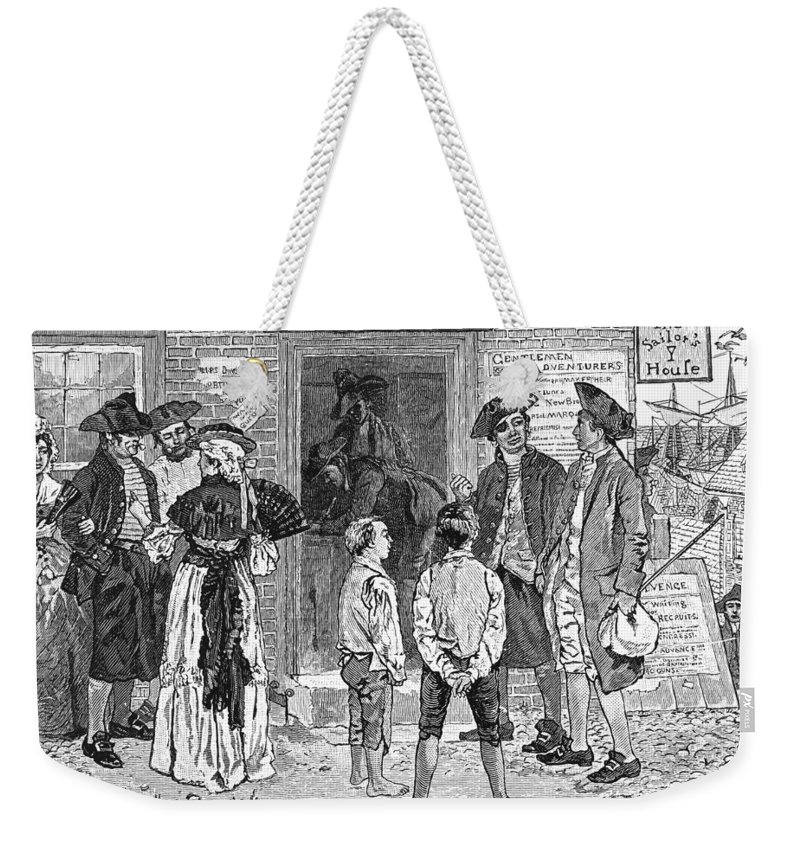 1778 Weekender Tote Bag featuring the photograph Recruitment, C1778 by Granger