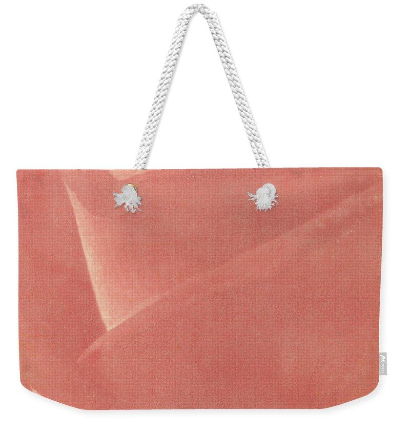 Rose Weekender Tote Bag featuring the photograph Reddish Rose by Casper Cammeraat