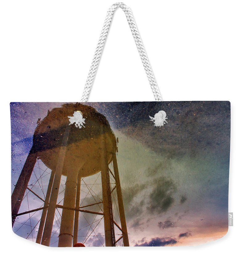Reflection Weekender Tote Bag featuring the photograph Reflected Necessity by Jason Politte