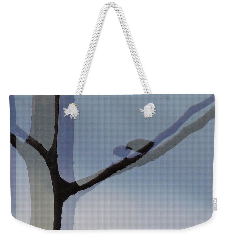 Reflection Weekender Tote Bag featuring the photograph Reflecting by Mim White