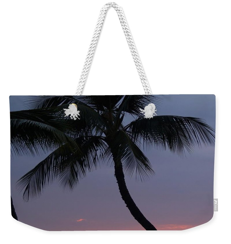 Sunset Weekender Tote Bag featuring the photograph Reflections by Athala Carole Bruckner