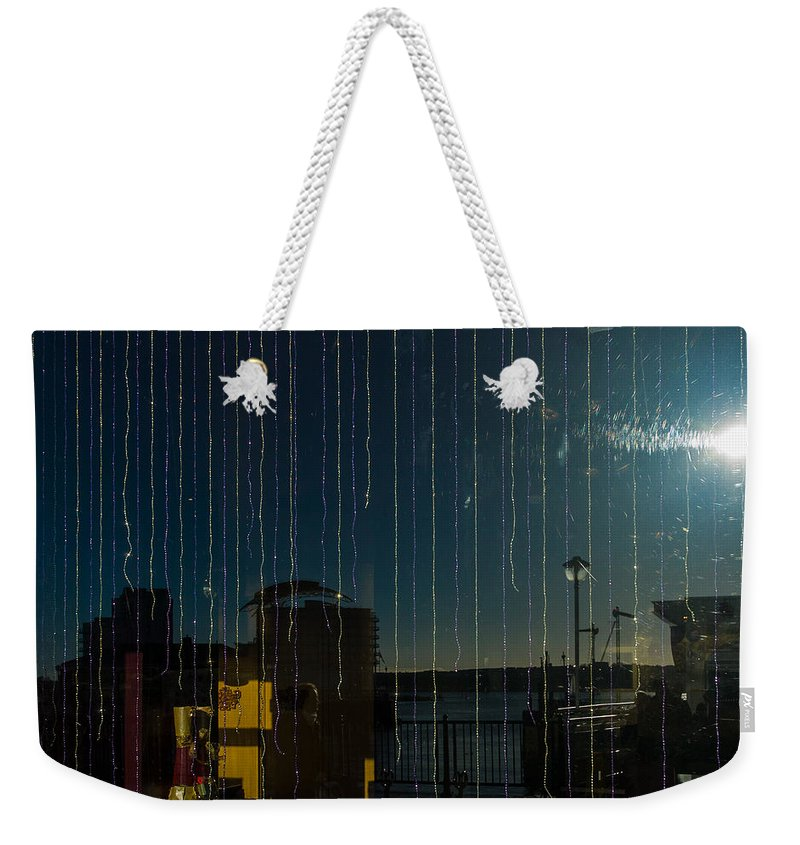 Apartments Weekender Tote Bag featuring the photograph Reflections by Mark Llewellyn