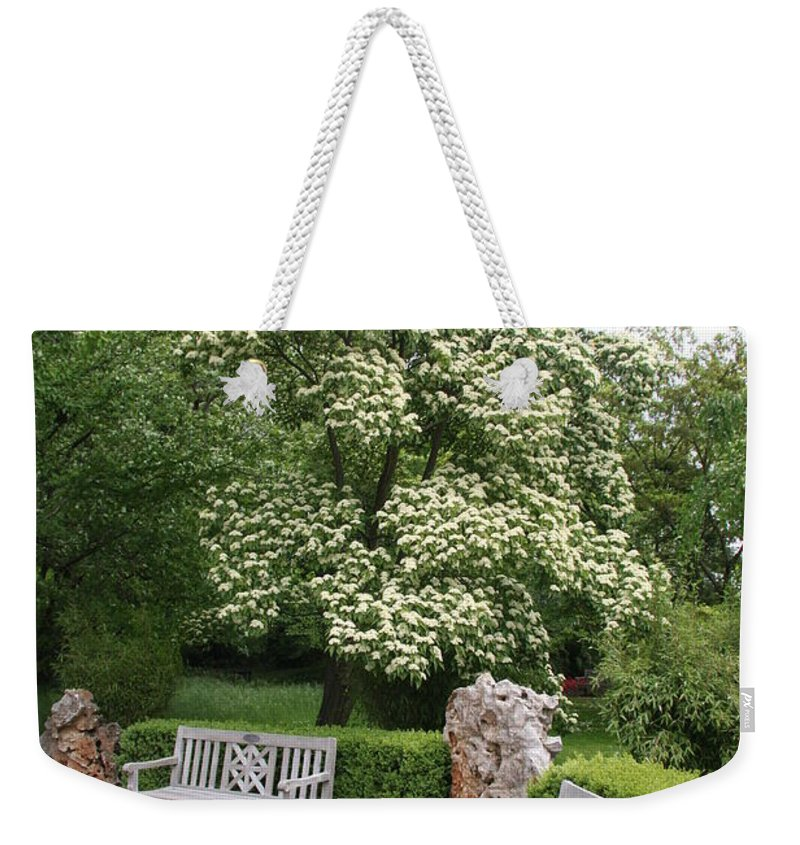 Park Weekender Tote Bag featuring the photograph Relax In The Park by Christiane Schulze Art And Photography