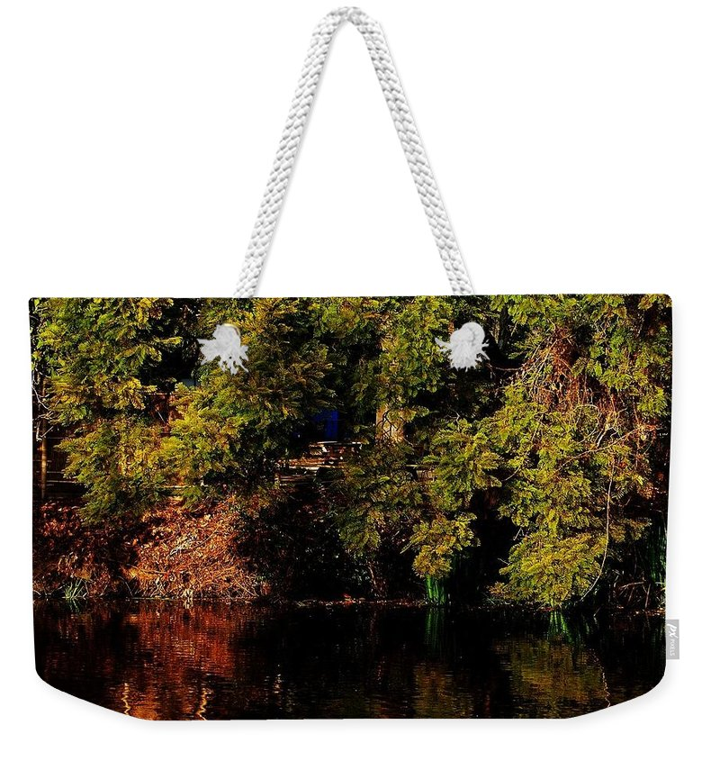 Los Angeles Arboretum Weekender Tote Bag featuring the photograph Relaxing To Sight Of Nature by Keisha Marshall