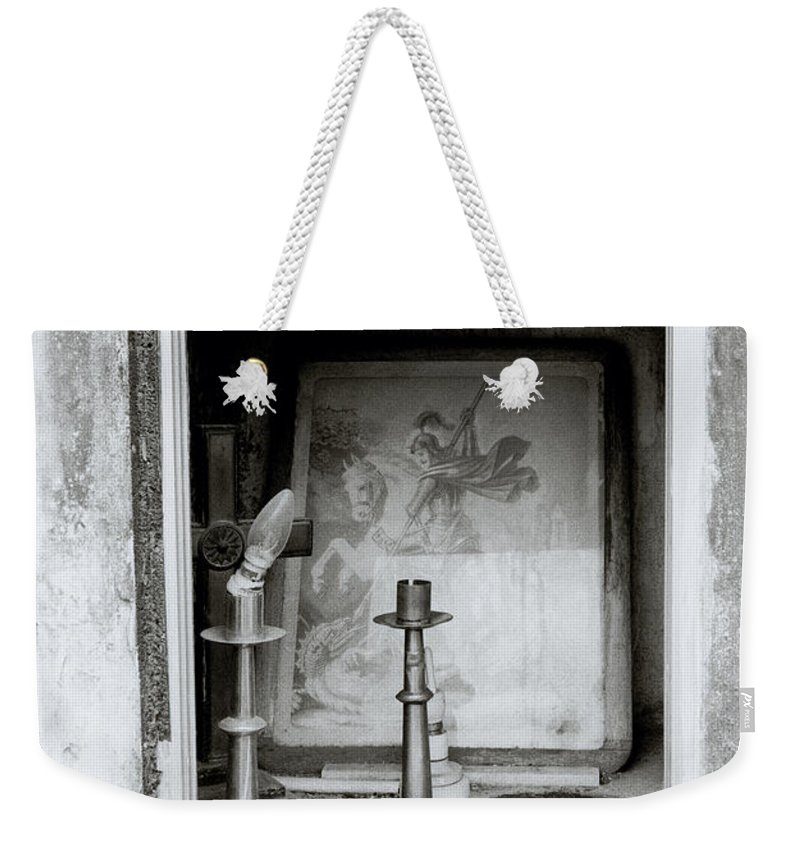 Art Weekender Tote Bag featuring the photograph Religious Window by Shaun Higson