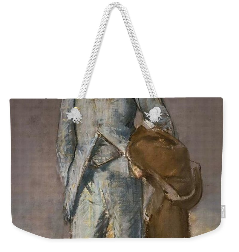 1882 Weekender Tote Bag featuring the painting Rene Maizeroy by Edouard Manet