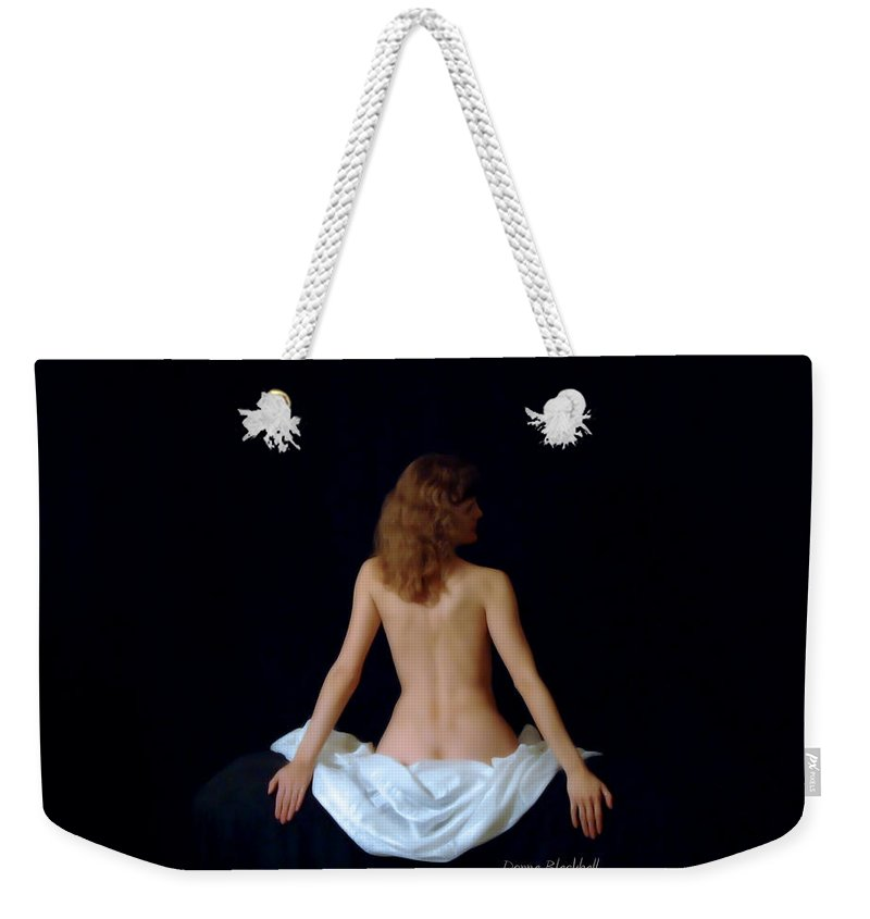 Woman Weekender Tote Bag featuring the photograph Rennaisance Woman by Donna Blackhall