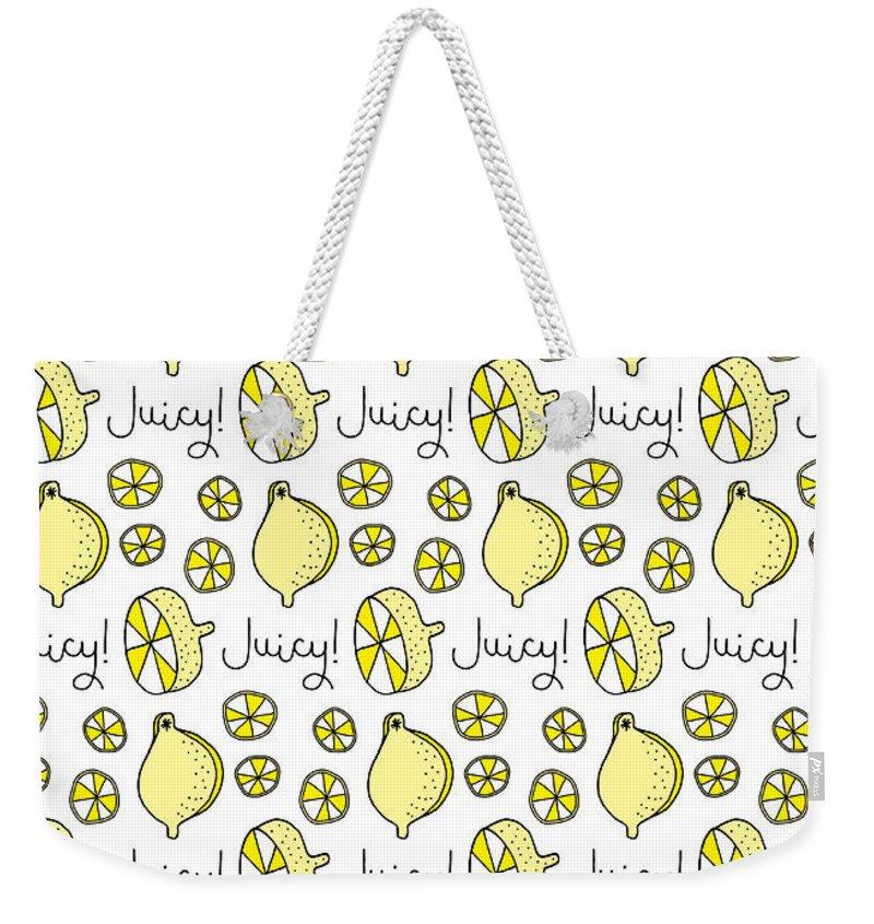 Yellow Weekender Tote Bags