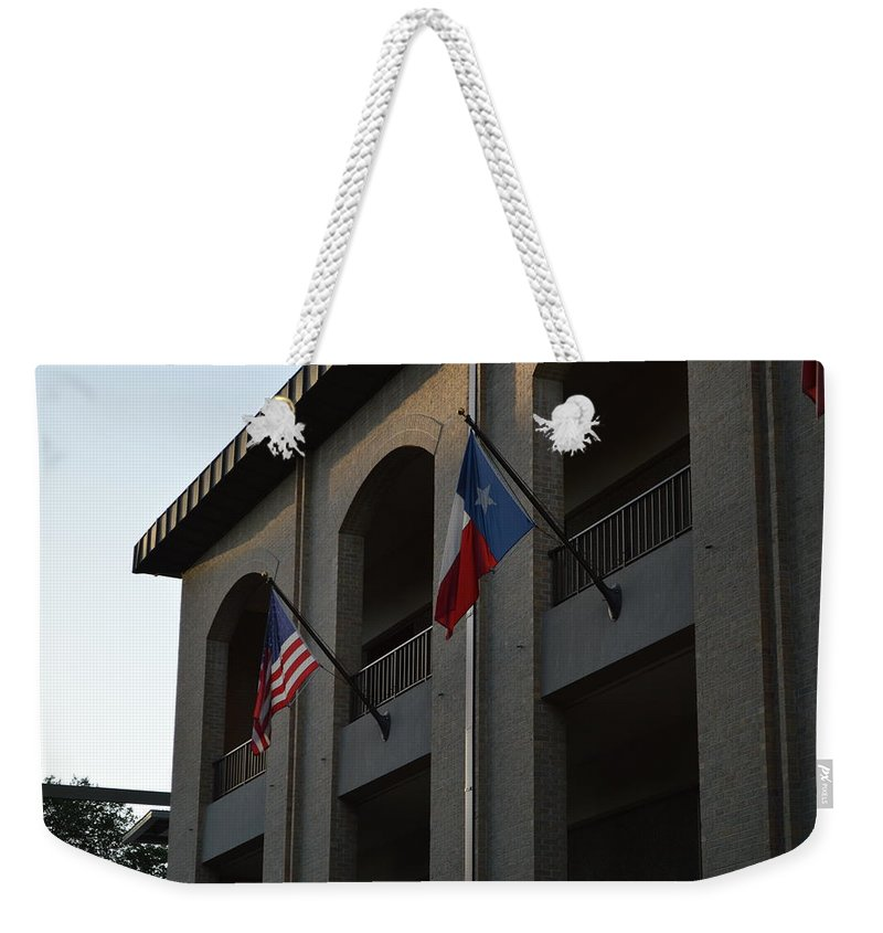 Architecture Weekender Tote Bag featuring the photograph Respect by Shawn Marlow