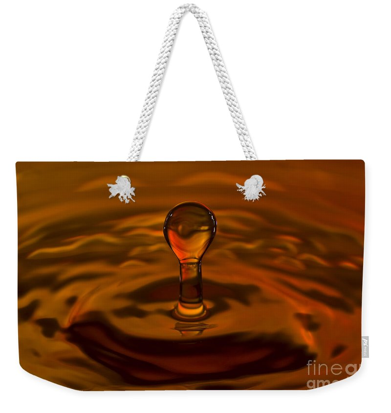 Drop Weekender Tote Bag featuring the photograph Resurrection by Anthony Sacco