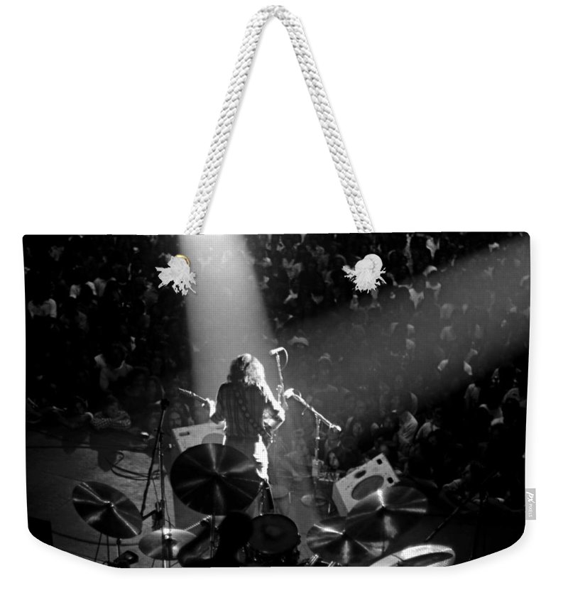 Rory Gallagher Weekender Tote Bag featuring the photograph Rg #7 by Ben Upham