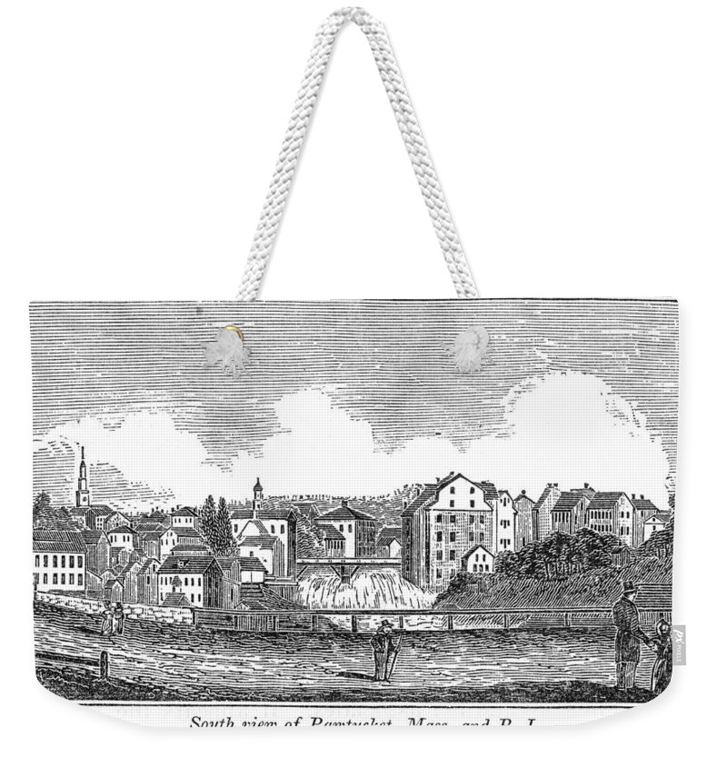 1839 Weekender Tote Bag featuring the painting Rhode Island, Usa, 1839 by Granger