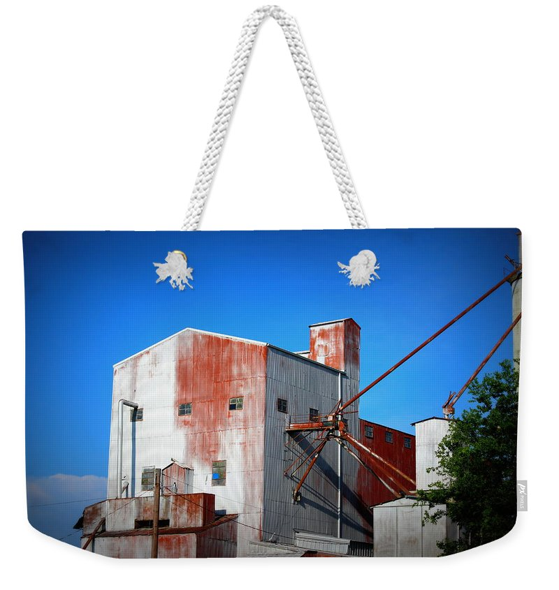 Rice Mill Weekender Tote Bag featuring the photograph Rice Mill IIi by Beth Vincent
