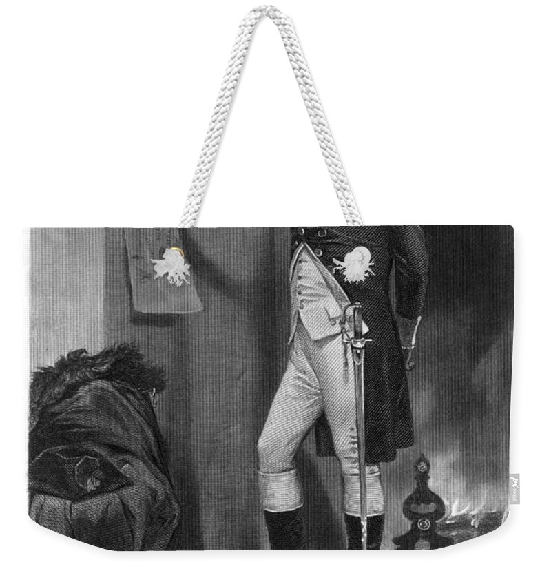 1775 Weekender Tote Bag featuring the photograph Richard Montgomery by Granger