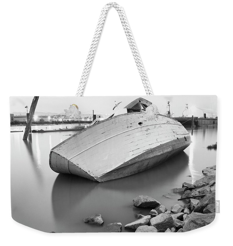 Tranquility Weekender Tote Bag featuring the photograph Richmond, British Columbia, Canada by Brian Caissie
