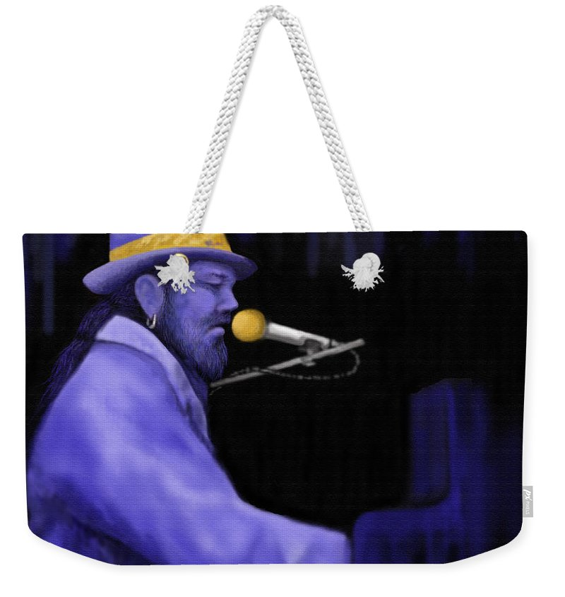 Painting Weekender Tote Bag featuring the painting Right Place Wrong Time by Steve Knapp
