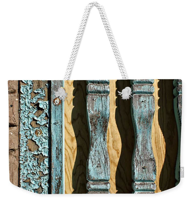 Color Weekender Tote Bag featuring the photograph Rincon by Nikolyn McDonald