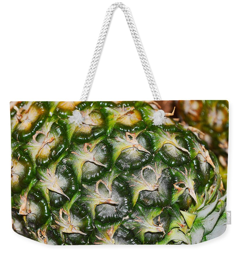 Nature Weekender Tote Bag featuring the photograph Ripe And Green by Felicia Tica