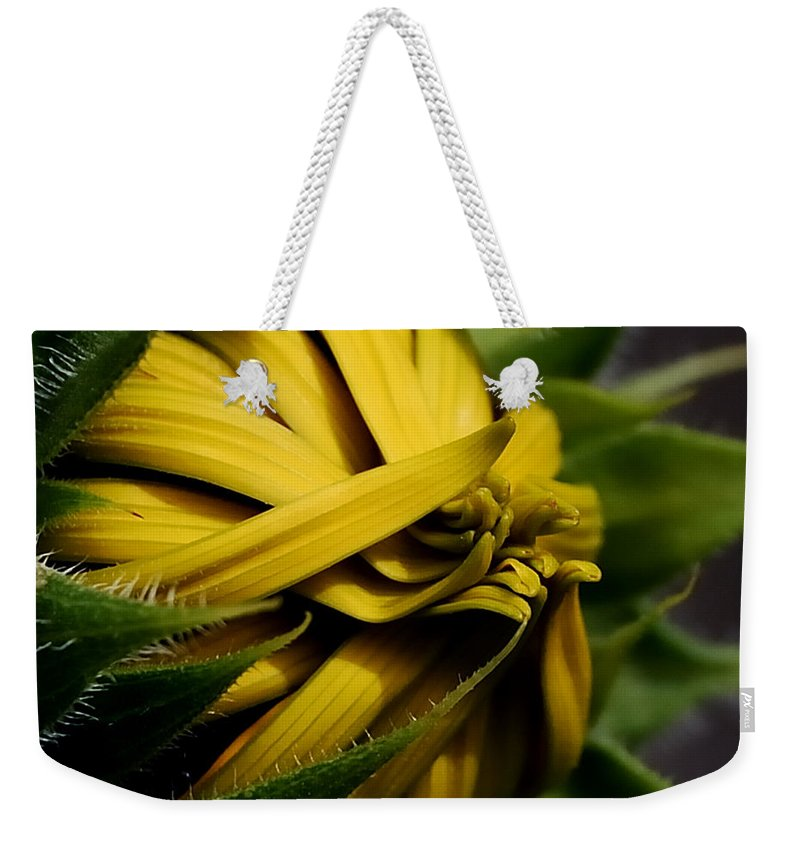 Botanical Weekender Tote Bag featuring the photograph Rising Sun by Steven Milner