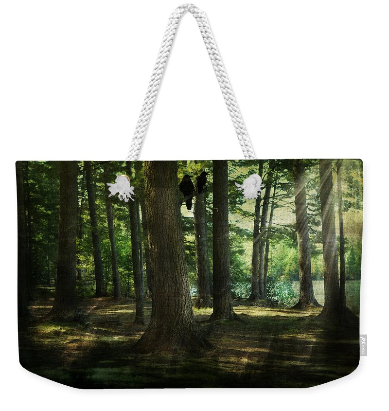 Evie Weekender Tote Bag featuring the photograph Rivermouth by Evie Carrier
