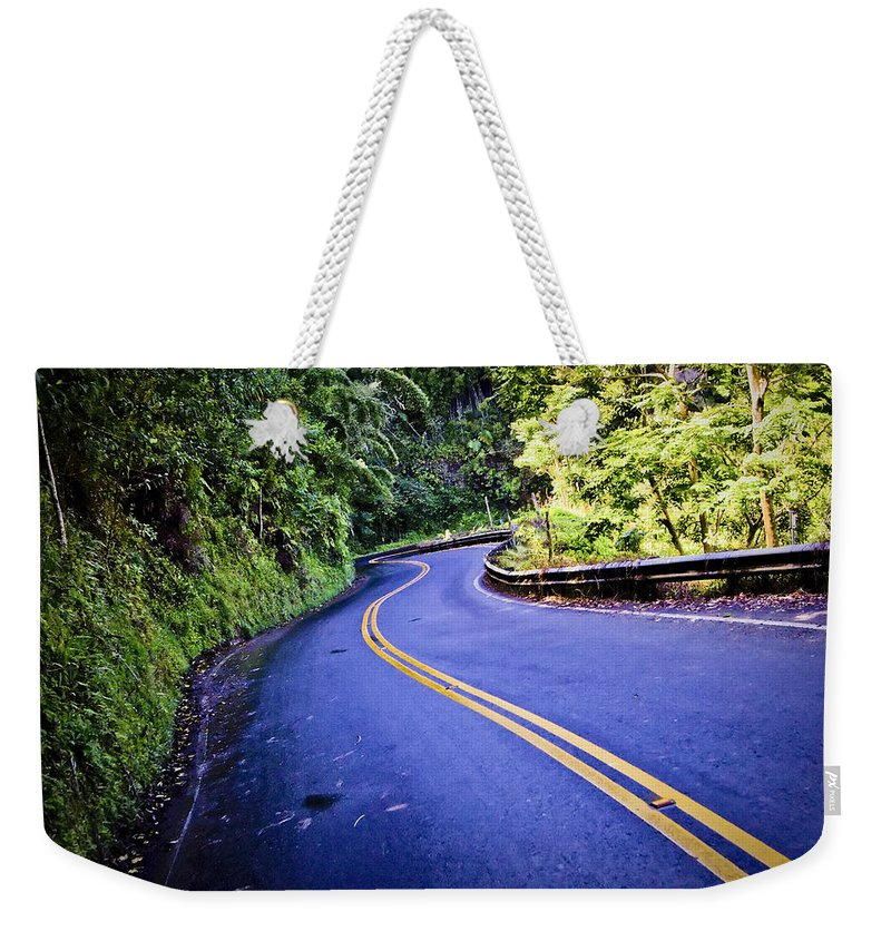 3scape Weekender Tote Bag featuring the photograph Road To Hana by Adam Romanowicz