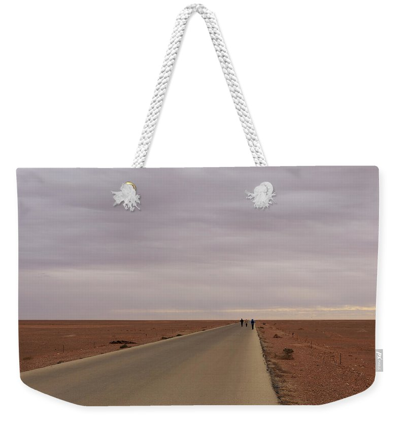 Road Weekender Tote Bag featuring the photograph Road To Nowhere by Ivan Slosar