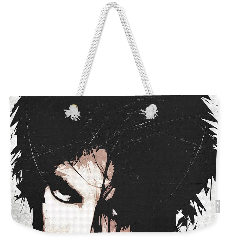 Robert Weekender Tote Bag featuring the digital art Robert Smith by Filippo B