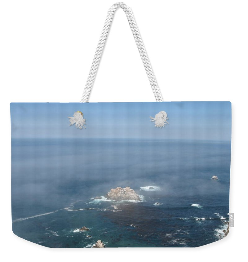Rocks Weekender Tote Bag featuring the photograph Rocks In The Water by Christiane Schulze Art And Photography