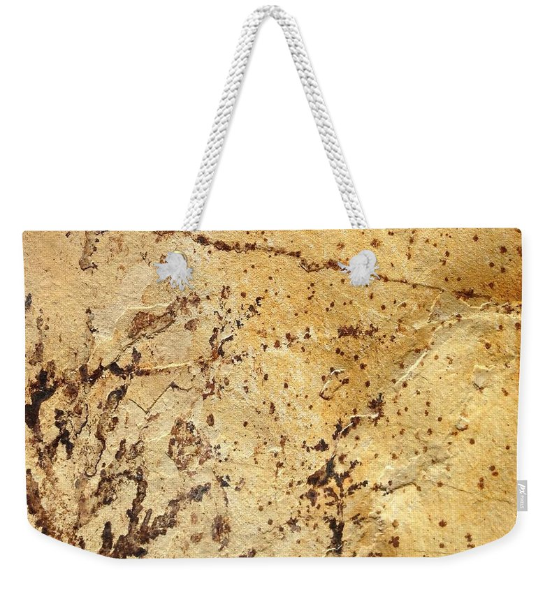 Rock Weekender Tote Bag featuring the photograph Rockscape 11 by Linda Bailey