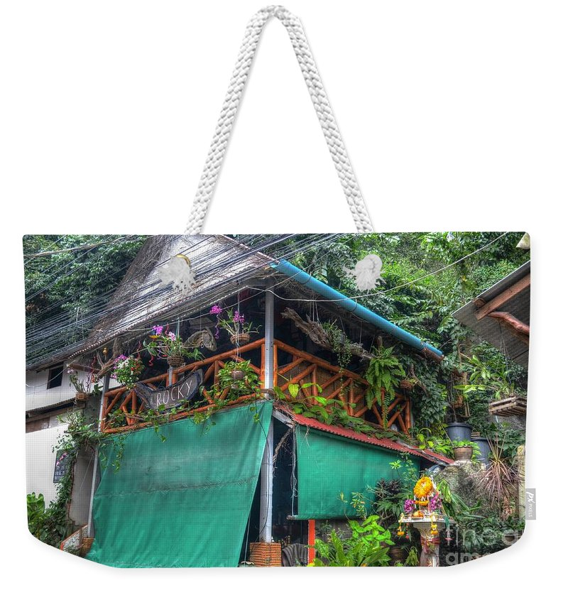 Michelle Meenawong Weekender Tote Bag featuring the photograph Rocky by Michelle Meenawong